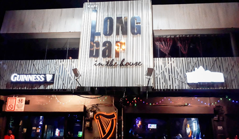 Long Bar In The House Ipoh
